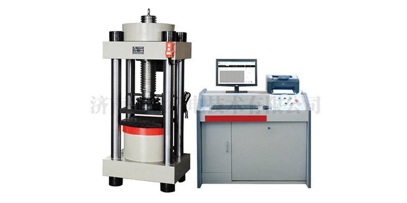 YAW-E系列微机控制岩石单轴压缩变形试验机